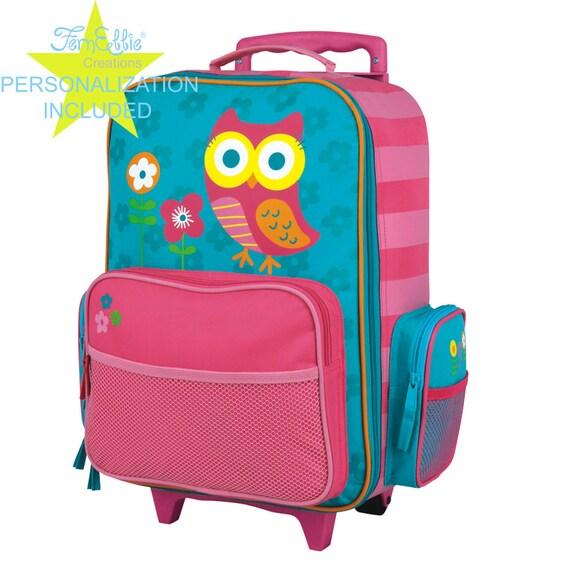 OWL Stephen Joseph Classic Rolling luggage