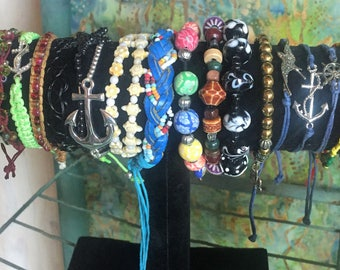 Tie & Stretchy Bracelets  (Open for More)