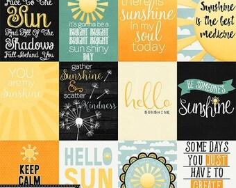 On Sale 50% Summer Sun, Journal and Pocket Scrap Cards Digital Scrapbook Kit, Scrapbooking Elements and Embellishments
