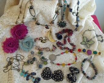Vintage Wearable Jewelry Lot