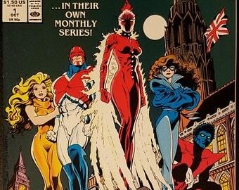 Excalibur #1-3 (1988) Comic Books