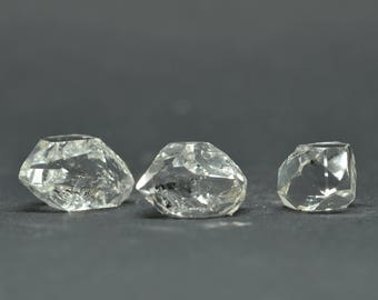 Enhydro Herkimer Diamond Quartz X 3 PIECES  - HD04