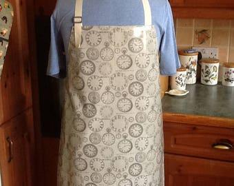 Adult oilcloth apron