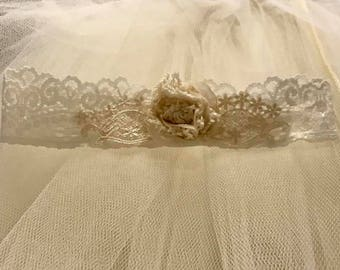 Libby Lace Baby Couture Headband