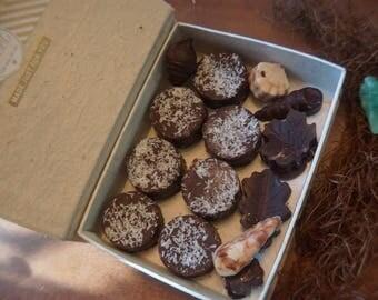 Box of mint chocolates