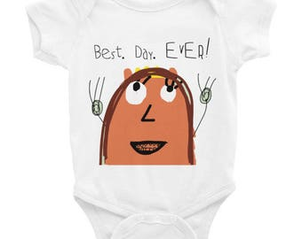 Best. Day. EVER! Baby Onesie