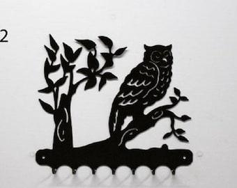 Hangs 26 cm pattern metal keys: OWL