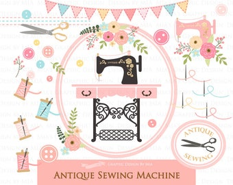 Image result for free whimsical sewing machine images