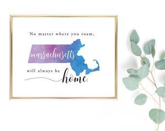 No matter where you roam Massachusetts will always be home