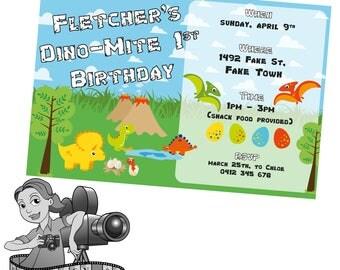 Dinosaur Invites