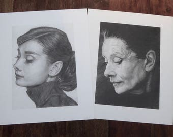 2 x Audrey Hepburn Limited Edition Prints - Special Offer!!!