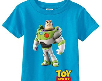 Buzz Lightyear / Toy Story Custom t-shirt (Different Colors)