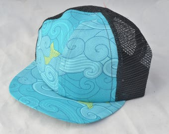 Stormy Sea Baby Trucker Hats