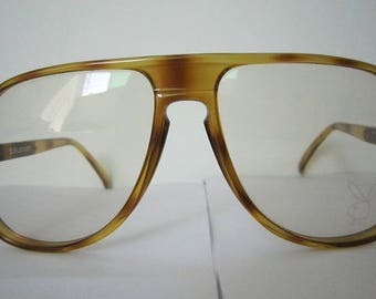 80s Playboy 4581 man aviator eyeglass frame Germany