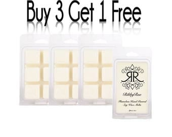 "MARZIPAN Highly Concentrated Fragrance Soy Wax Melts Tarts Free Shipping Ship ""Buy 3 Get 1 FREE"""
