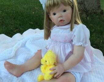 Reborn Toddler Doll (Tibby by Donna RuBert)