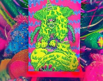 Slime Zilla print