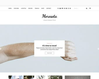 Moroseta - Blog & Shop WP Theme - Premade - WooCommerce - Self Hosted - Wordpress Blog Theme - Responsive