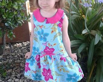 Girls Dress, Girls sundress, Toddler Dress, BFF dress