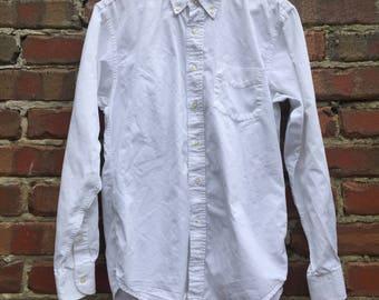 United Colors of Benetton Mens White Shirt - Size Medium