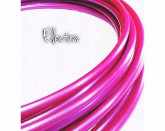 """11/16"""" Electra Polypro Hula Hoop// Dance Hoop// Performance Hoop//Goldilocks"""