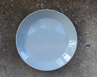 "Arabia of Finland TEEMA Light Gray Salad Plate 8.25"" Designed by Kaj Franck, Scandinavian Design"
