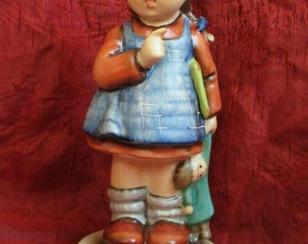 "Hummel #486 I Wonder TMK7 5.25"" Figurine  Goebel minty home decor figure statue rare vintage children collectible"