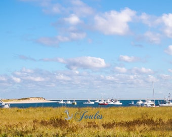 Pleasant Bay ~ Photograph, Chatham, MA, Cape Cod, Nautical Photos, Coastal, New England, Boats, Home Decor, Wall Art, Beach Photography