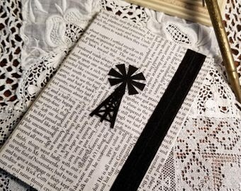 My Antonia Journal, Book Page Journal, Willa Cather, Blank Page Journal, Book Nook, Journaling, Nebraska Author, MarjorieMae
