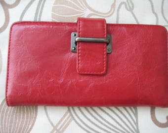 Perfect Red Leather Wallet