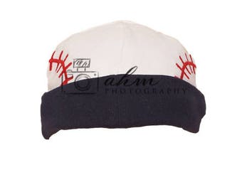 Digital Baseball Hat Accessory. One of a kind prop!