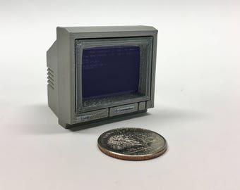 Mini Commodore 1084 monitor - 3D Printed!