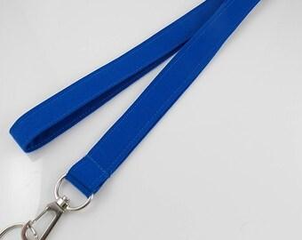 NEW! NARROW Lanyard Blue Lanyard  Narrow Lanyard Slim Lanyard Teacher Lanyard Key Holder Lanyard for Keys Office Lanyard Nurse Lanyard