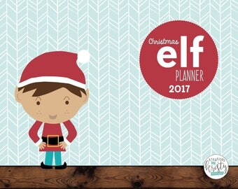 Complete Boy Elf Planner, Updated for 2017, Instant Digital Download
