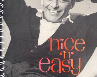for the Frank Sinatra - Nice 'N' Easy fan!  Vinyl Album Cover Notebook