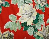 Vintage cotton fabric pan...