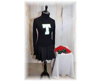 Retro Cheerleader / Vintage Cheerleader / Cheerleader Sweater / Cheerleader Costume-Medium (K136)