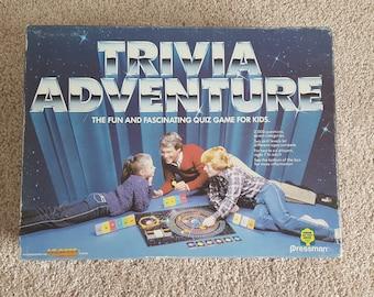 1983 Trivia Adventure Game