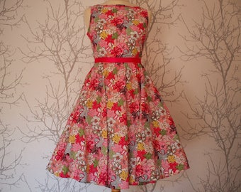 Made to order: vintage dress, large choice of fabrics