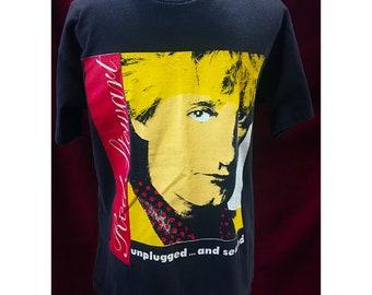 Original Vintage Rod Stewart Tour Tshirt