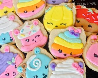 Nom Nums Cookies, Nom Nums Party, Nom Nums Birthday Party Favors, Nom Nums Cake