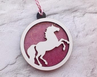 Unicorn bauble- Christmas decoration