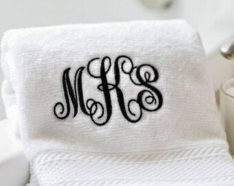 Personalized Luxury Bath Towels