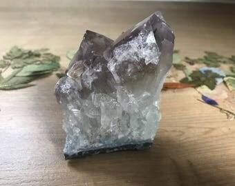 Amethyst Crystal Cluster // 276g // Home Decor //