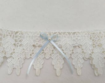 blue garter, wedding garter , lace garters