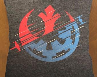 Rebel Alliance throw pillow