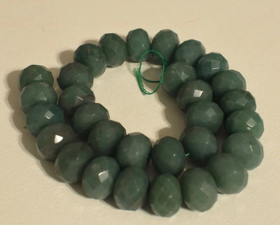 Beads Chinese Adventurine Green Faceted Round Beads Natural Adventurine Chinese Beads