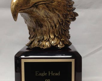 Eagle Head on Piano Finish Base