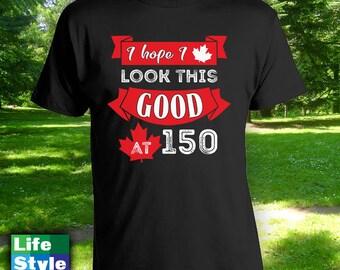 Canada 150 T-shirt, mens womens t-shirt, canada day t-shirt,canada day shirt,canada day,happy canada day,canada 150,canadian apparel-CT-1301