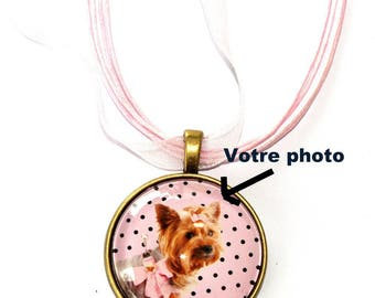 Pendant with a photo of your choice